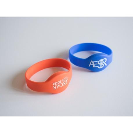 Pulseira RFID/NFC de Silicone Personalizada