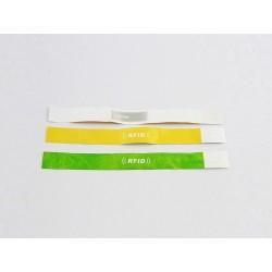 Pulseira RFID/NFC de Tyvek Personalizada
