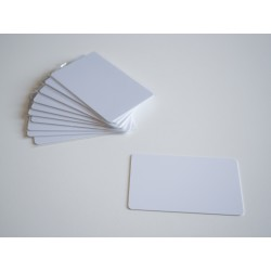 Cartão RFID branco em PVC TK4100 (125 kHz)