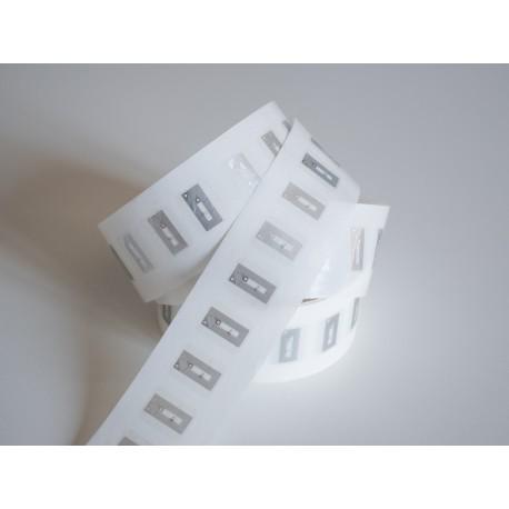 Etiqueta Transparente NFC NTAG®213 Retangular 15x20mm