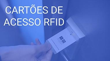 Cartões de acesso RFID